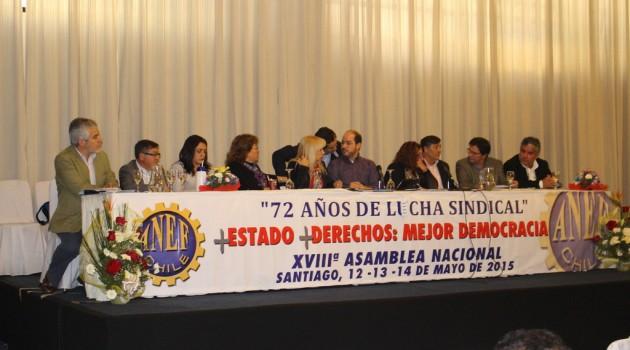 XVIIIª Asamblea Nacional ANEF se inaugura con un llamado a construir un nuevo paradigma en el empleo público